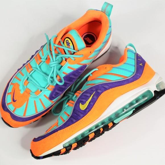 separation shoes 849e0 2f844 Nike Air Max 98 QS Cone Vibrant Air Tour Yellow